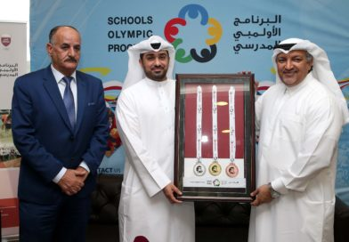 Tamim Al Majd medals are launched to motivate participants in the Olympic School Program