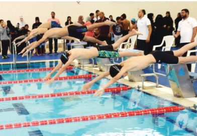Closing of swimming competitions for the Olympic school program