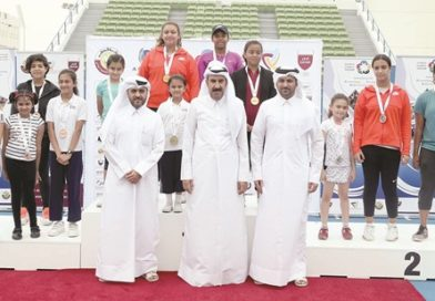 Strong competitions at the end of tennis in the Olympic school program