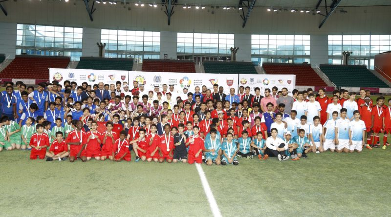 A special conclusion of the football competitions in the Olympic school program
