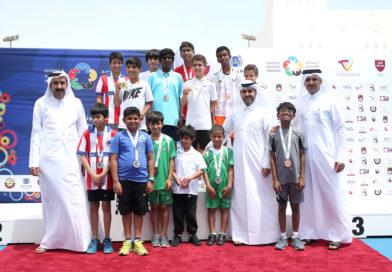 ختام منافسات التنس الأرضي بالبرنامج الأولمبي المدرسي