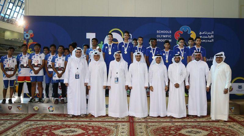 إسدال الستار على النسخة الثانية عشرة من البرنامج الأولمبي المدرسي
