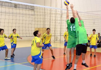 Students display impressive volleyball skills in SOP competitions